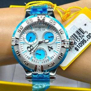 FIRM PRICE-Invicta Subaqua ladies crystal Watch.